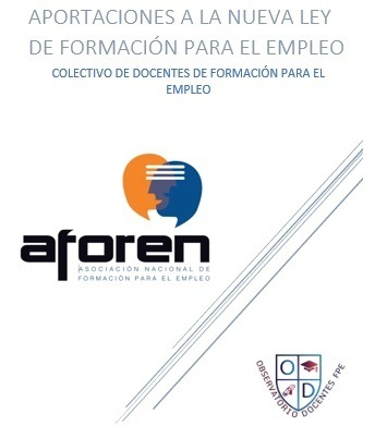 Aportaciones a la nueva ley de formación para el empleoaforen