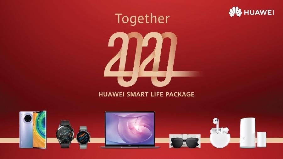 HMS: Juntos 2020, otro que lo intenta; pero puede conseguirloCAE  Together  HUAWEI SMART LIFE PACKAGE  1 s 2 a — CS = A