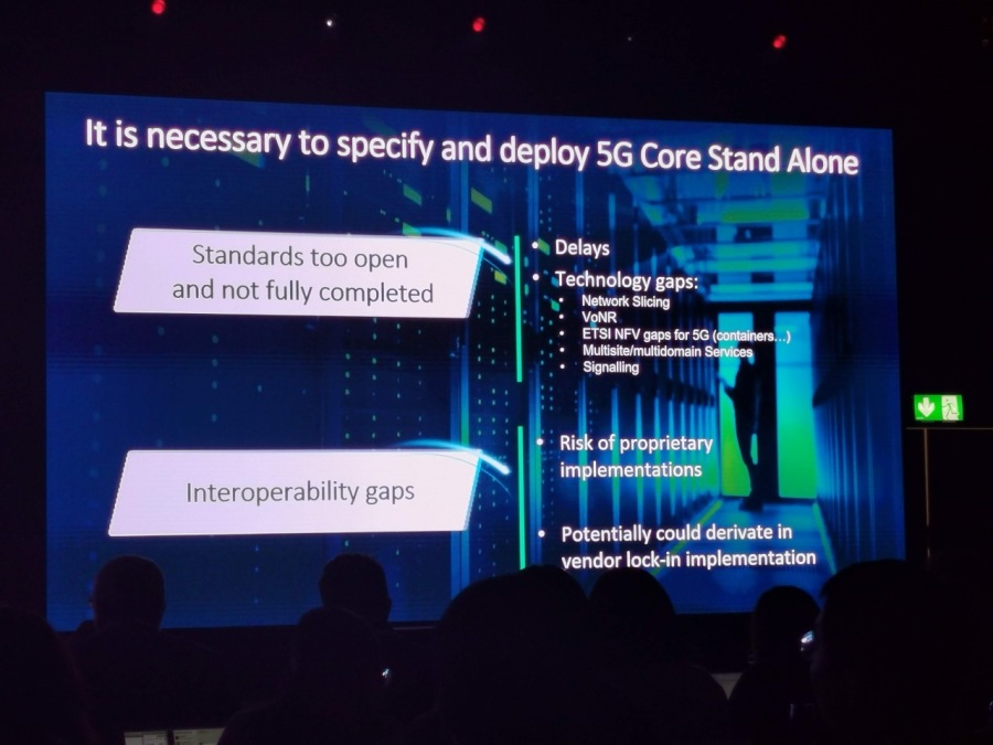 Itis necessary to specify and deploy 5G Core Stand Alone