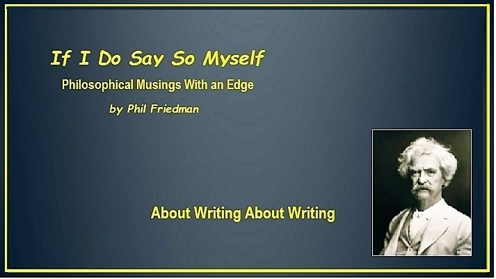 About Writing About Writing