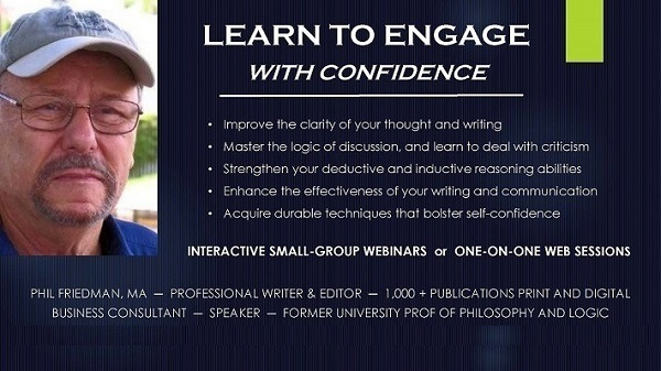 LEARN TO ENGAGE & WITH CONFIDENCE