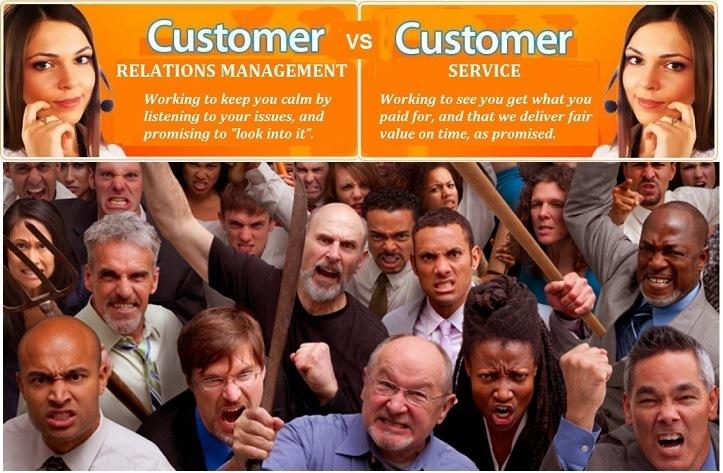 Customer Relations Management Versus Customer Service