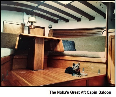 Noka's cuarterdeck control station