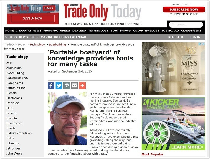 The Portable Boatyard