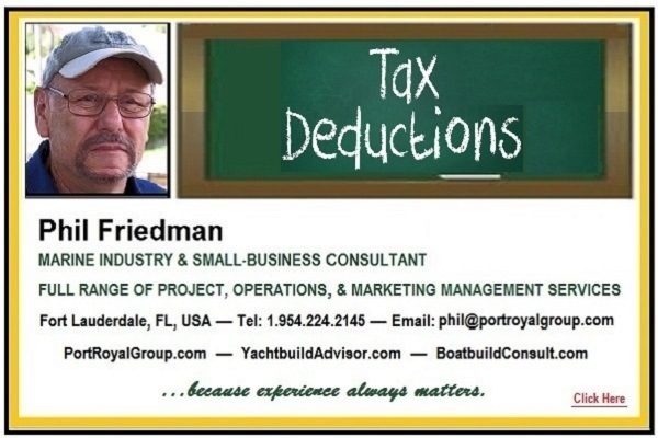 When Advice to Small-Business Ain't So Greatos De  Phil Friedman  MARINE INDUSTRY & SMALL-BUSINESS CONSULTANT  FULL RANGE OF PROJECT, OPERATIONS, & MARKETING MANAGEMENT SERVICES  Fort Lauderdale, FL, USA — Tel: 1954 224 2148 — Email. phik@portroyaigroup com PortRoyalGroup com — YachtbuildAdvisor com — BoatbuildConsult com  ...becanse expericmce always mations. prop