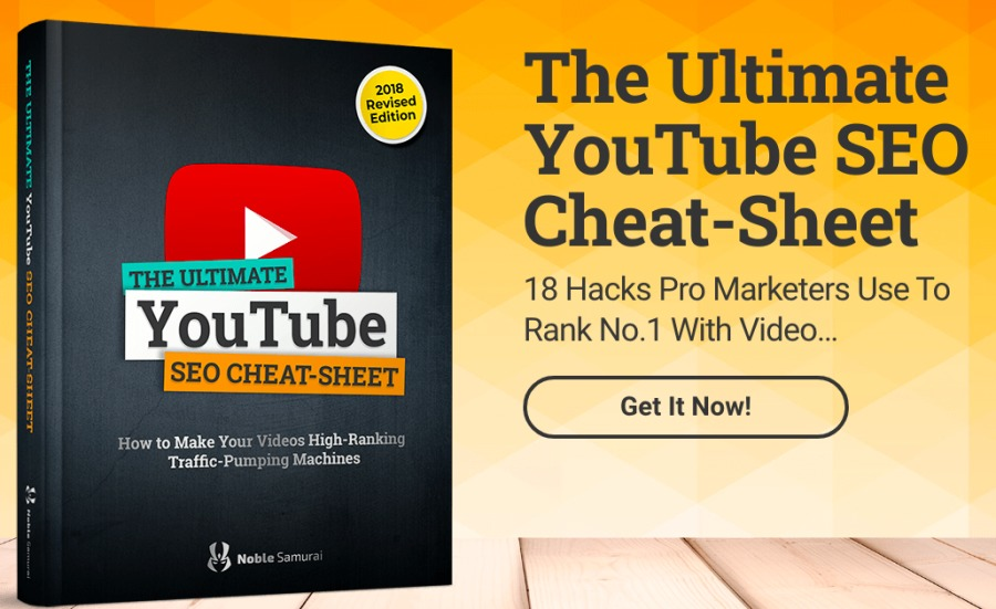The Ultimate YouTube SEO | 2 Cheat-Sheet  18 Hacks Pro Marketers Use To YouTube Rank No.1 With Video SEO CHEAT-SHEET [Ep ape Tratfic-Pu RIE