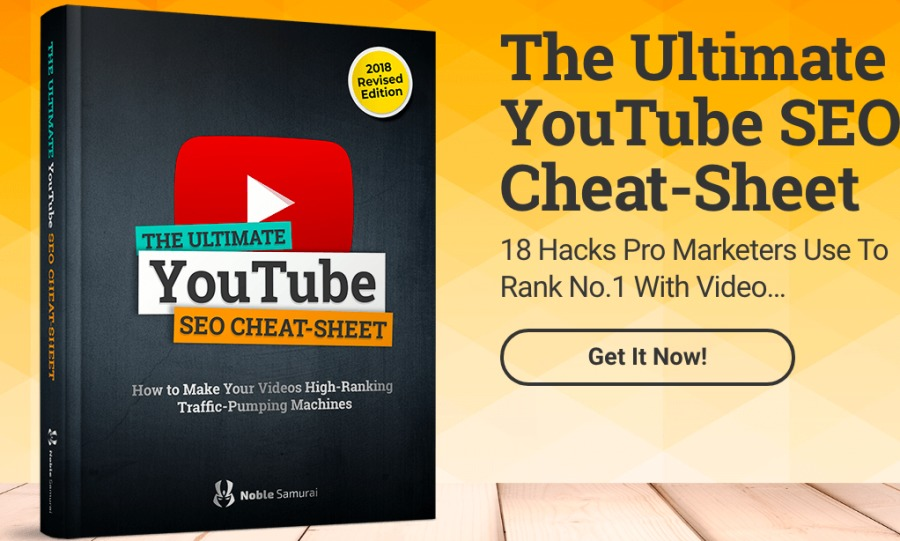 The Ultimate YouTube SEO 2 Cheat-Sheet  18 Hacks Pro Marketers Use To  YouTube Rank No.1 With Video...  SEO CHEAT-SHEET  ETAT (cetnnow 1)  umping Machines
