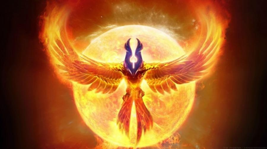 Chaos Theory 2021 (Phoenix Rising)MurMarketing  COPYRIGHT 2021 JIM MURRAY