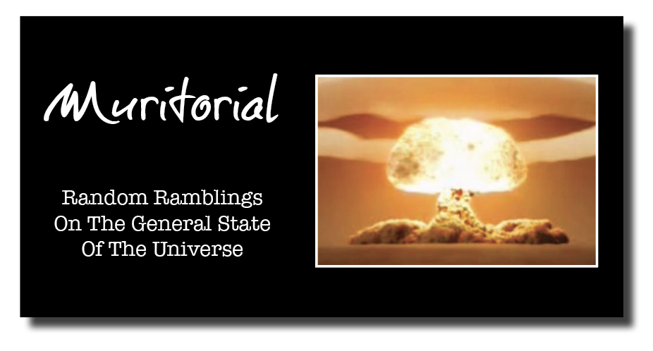 pCa  Random Ramblings On The General State Of The Universe