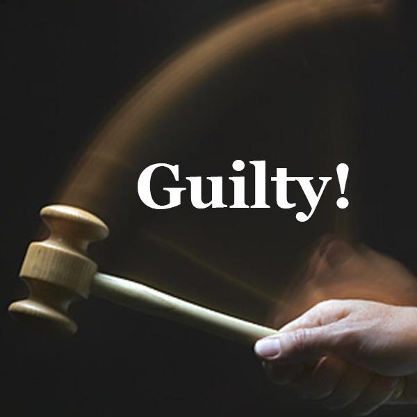 Guilty!  J