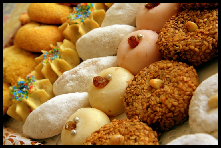Wassifi, Ahmed and the Moroccan Pastries