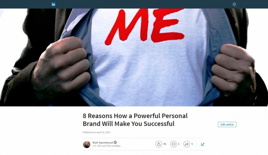 8 Reasons How a Powerful Personal Brand Will Make You Successful  ® °
