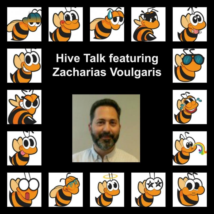 Hive🐝Talk - Featuring Zacharias Voulgaris - October 11, 2019Slee  CY = & & °     wlelglele
