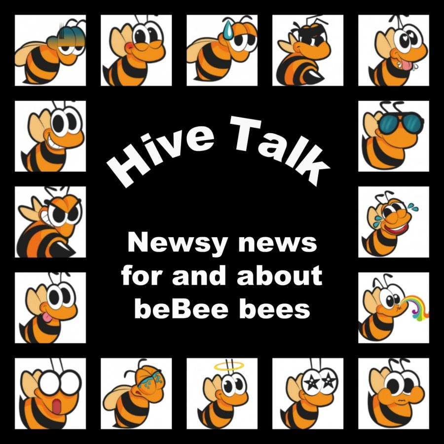 """Hive🐝Talk-July 2, 2018-Featuring Renee🐝 Cormier VIPEERE """"Rug  for and about Fo beBee bees  (\y >  wlelglele"""