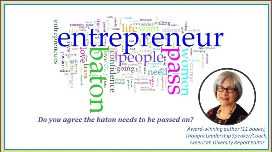 @  Do you agree the baton needs to be passed on? Si  Lynda Spiegel Founder of Rising Star Resumes