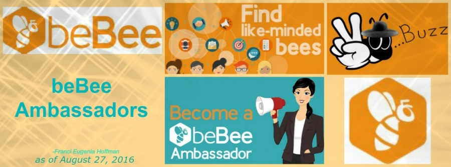 Upon Becoming a beBee Brand Ambassador
