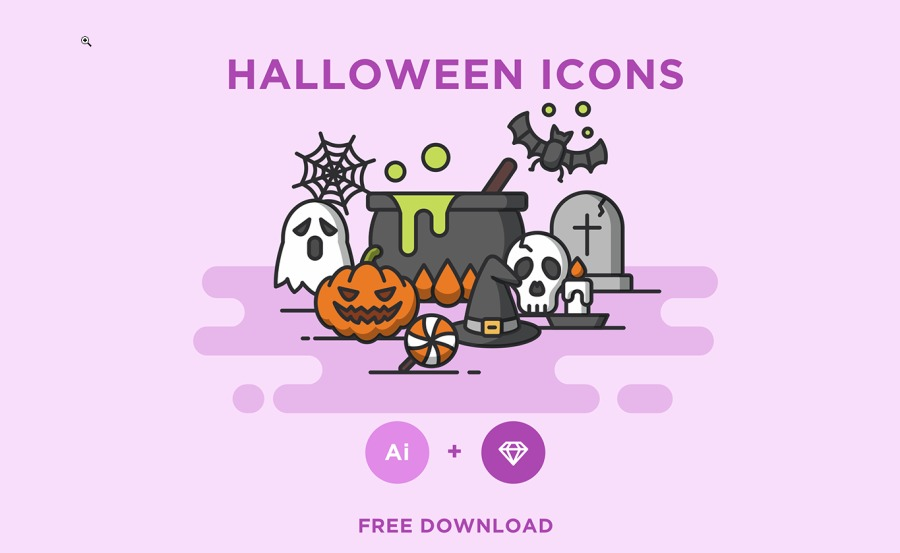 HALLOWEEN ICONS oo     FREE DOWNLOAD