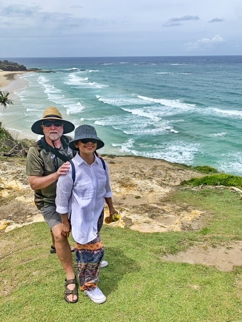 """Let's Go Nuts on Straddie, LaddieLTR CLINT A  LYS [SY] Wy LETTS ed  © warning"""" *  $66  NO LIFESAVING swimming  SERVICE NOT Advis OH SURF  SUBMERGED SLIPPERY  ROCKS ROCKS. REQUIRED  LIFESAVING INFORMATION  THIS AREA IS NOT PATROLLED Err ye,  REGULATIONS  BOEOD  > LE 8 9) Re SES"""