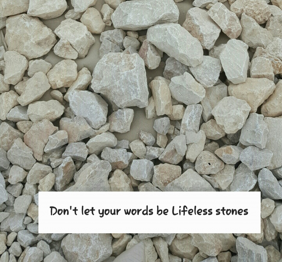 Words are just Wordsi le y Words are like the roots of this tree! : Give Life to your words
