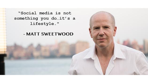 """beBee Entrevista en español con Matt Sweetwood, Presidente y CEO de beBee en EEUU""""Social media is not something you do it's a lifestyle.""""  - MATT SWEETWOOD  (lias Ew"""