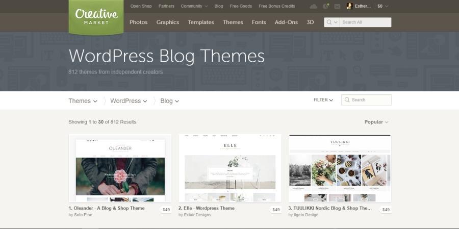 Por qué comprar una plantilla premiun para tu blog de WordpressFT BARRE =e    