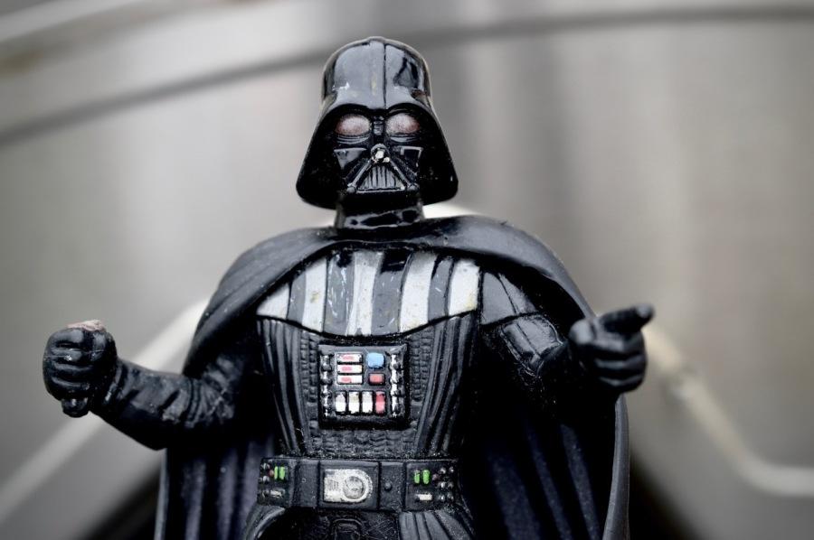 Look Mom, I'm Darth Vader!