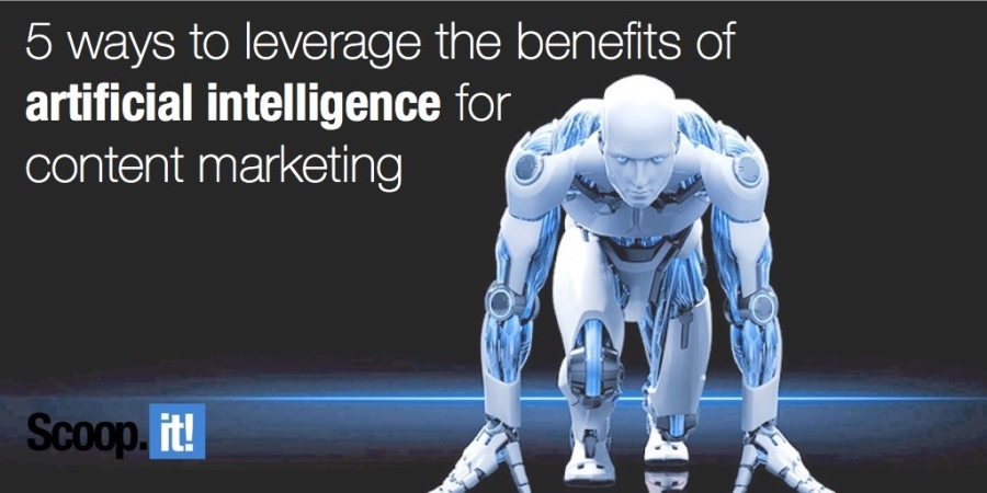 Don't be afraid of the content bots: 5 ways to leverage the benefits of artificial intelligence for content marketing Posted on July 18, 2016 by Guillaume Decugis — No Comments ↓5 ways to leverage the benefits of artificial intelligence for content marketing