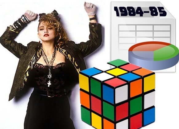 What have me, Madonna and spreadsheets got in common?