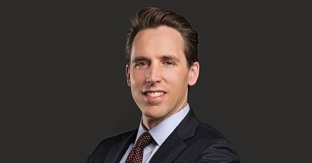 JOSH HAWLEY HOPES TO BE ADOPTED BY DONALD TRUMP