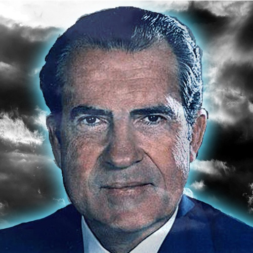 TRUMP CONSULTS WITH RICHARD NIXON'S GHOST, IT DOES NOT GO WELL