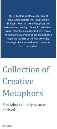 My e-book: Collection of Creative Ideas
