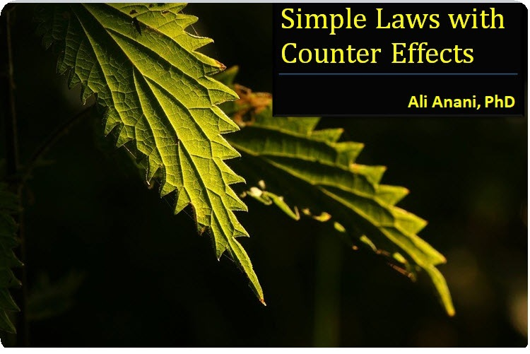 Simple Laws with Counter EffectsSimple Laws with Counter Effects  Ali Anani, PhD