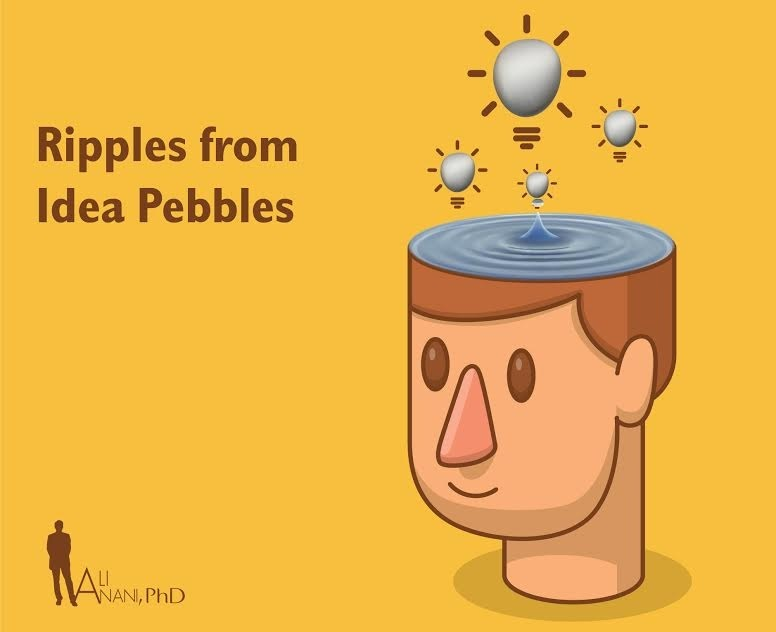 The Ripples from Ideas Pebbles