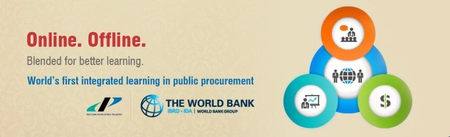 Certificate Program in Public Procurement (CPPP)Online. Offline. Blended for better learning  World's first integrated learning in public procurement