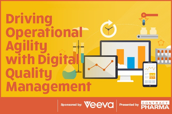 Driving Operational Agility with Digital Quality ManagementDriving 5  Operational  v  Agility - with a. Quality Quality wel  Bd (Loa BEE <r