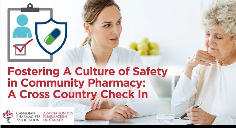 Fostering A Culture of Safety In Community Pharmacy - A Cross Country Check InFostering A Culture of Safety r in Community Pharmacy: A Cross Country Check In i J  & 5