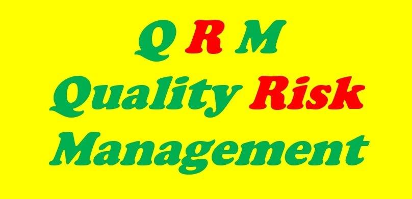 Foundations of GMP: Quality Risk ManagementORM Quality Risk Management