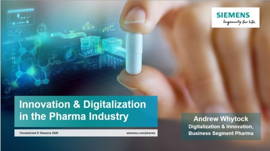 How the Pharmaceutical Industry can Benefit from DigitalizationSIEMENS  Ingesmssby for fe        TE CL ENC ro ir the Pharma Industry