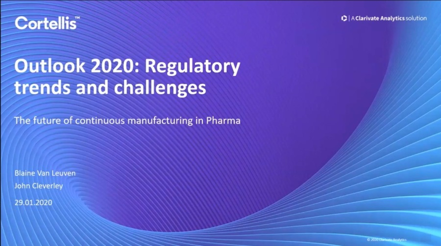Outlook 2020: Regulatory Trends and Challenges