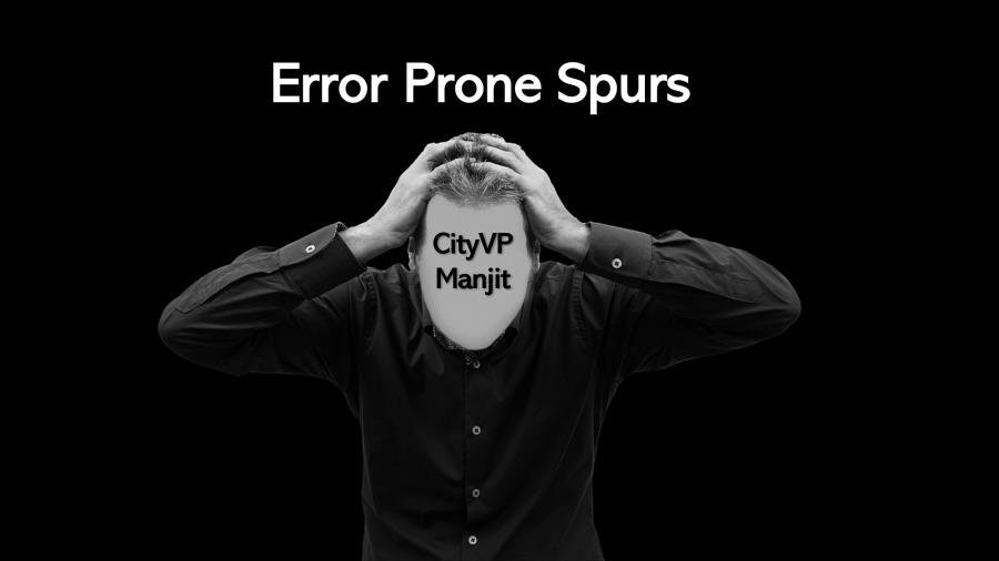 Error Prone Spurs