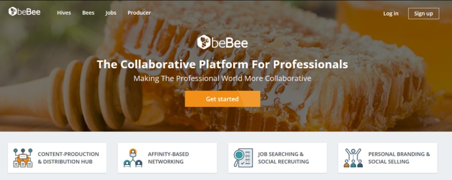 The Collaborative Plaform for ProfessionalsOueBee DR CT) id<br /> <br /> ObeBee<br /> The Be awa [LTCC HTT ELE<br /> <br /> CSPI