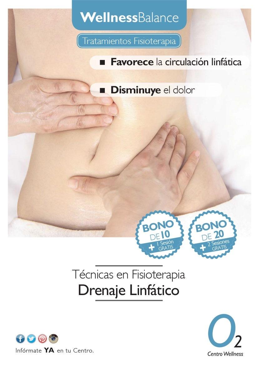 WellnessBalance  Técnicas en Fisioterapia Drenaje Linfatico  600® 0,  Informate YA en tu Centro Centro Wellness
