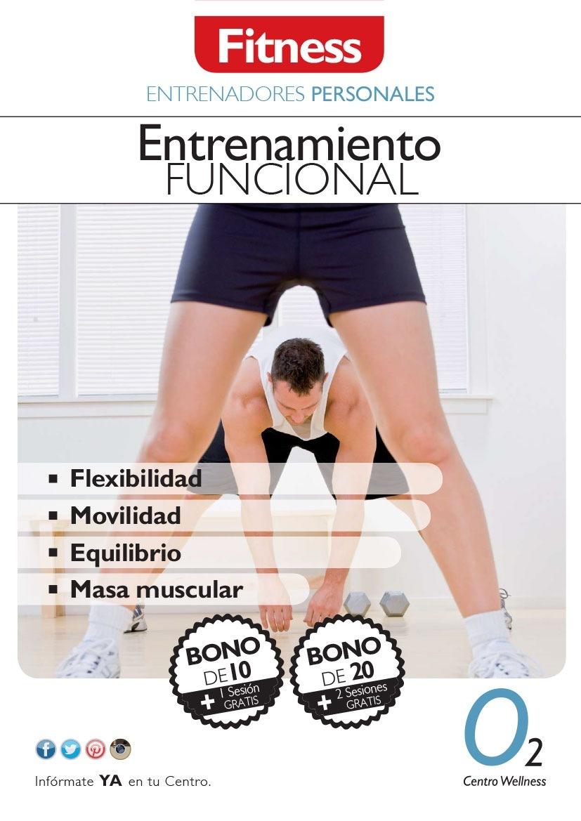 PERSONALES     Entrenamiento  n FUNCIONAL  |. + |»  * Flexibilidad = Movilidad = Equilibrio  = Masa muscular s Ta     Centro Wellness