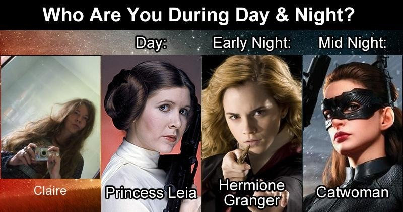 Who Are You During Day & Night? Re 5 = Early ALCS ~ Mid Night:          Hermione 3 Grangend!