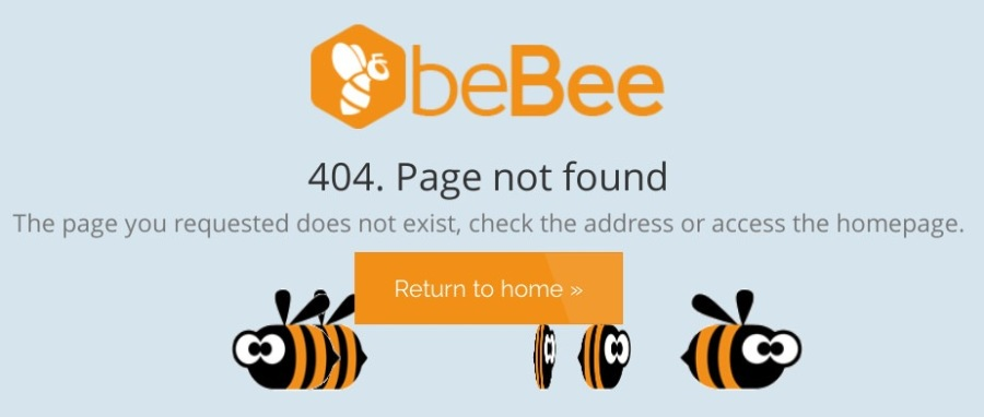 404. Page not found  a 6 ©