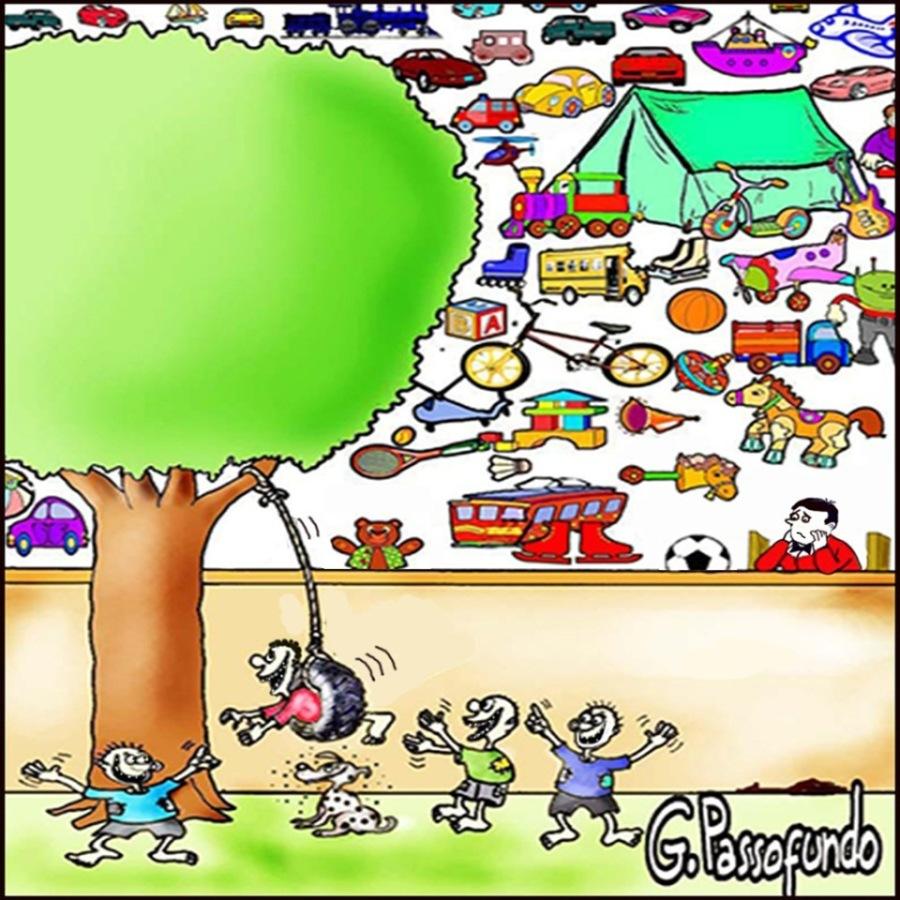 Brinquedos - Menção Honrosa nos festivais de humor do Japão e da Coreia do Sul