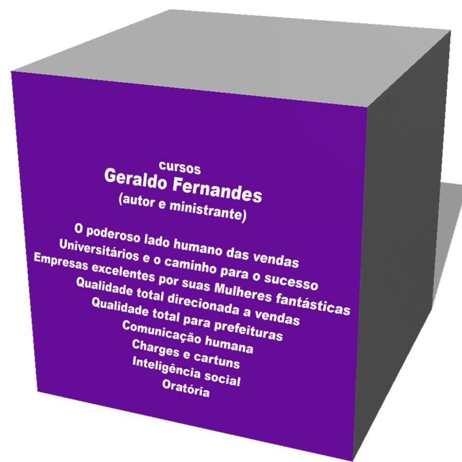 Cursos Geraldo Fernandes - in company - Em todas as regiões do Brasil (favor ver avaliações oficiais (parcial) em CDLs e Associações Comerciais) - contato: geraldopassofundo@terra.com.br