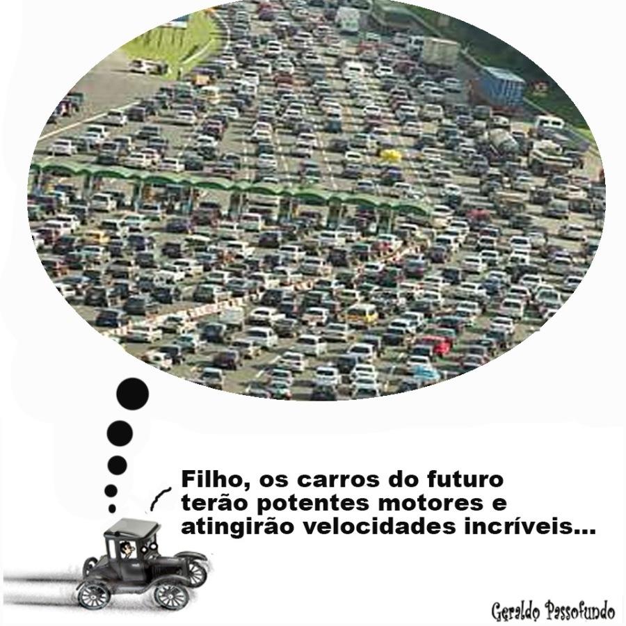 Progressoincriveis...  os carros do futuro potentes motores e  Filho, terao  '     idades  ingirao veloc  at  Geraldo Passofundo