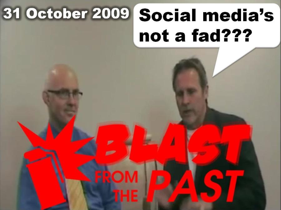 ELCTIELT# LE) Social media's  not a fad???