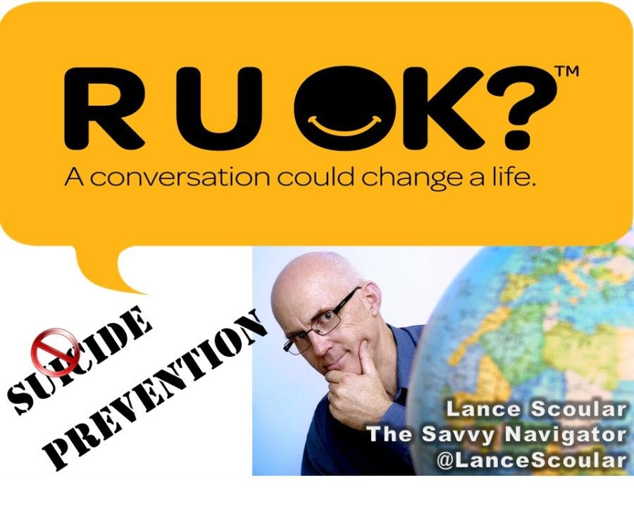 RU @K?  A conversation could change a life.            L The PILE gator @LanceScoular